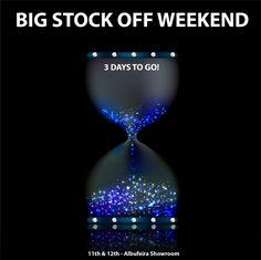 We're counting down the days!! Big Stock Off Weekend 11th & 12th - Albufeira Showroom --------------------- Estamos a contar os dias!! Grande Fim-de-Semana Stock Off 11 e 12 Janeiro - Showroom de Albufeira  #stockoff #stockoffweekend #fimdesemana #ofertas #promoções #contagemdecrescente #countdown