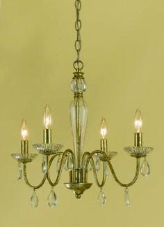 South Shore Decorating: AF Lighting 7004-4H Judy Traditional Chandelier AF-7004-4H