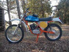 SWM 125 SIX DAYS 1973 versione AMERICA