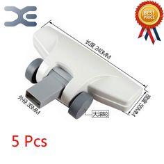 5Pcs High Quality Suitable For Midea Vacuum Cleaner Accessories Floor Brush Head SC861 / SC861A Square Mouth Brush Head #Affiliate