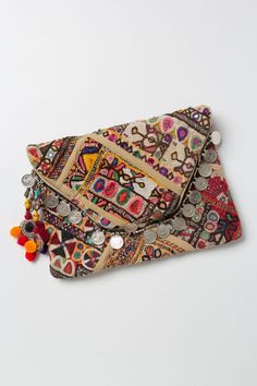 Adele: I've seen many coin purses like these in my travels. #PranaClutch #Anthropologie