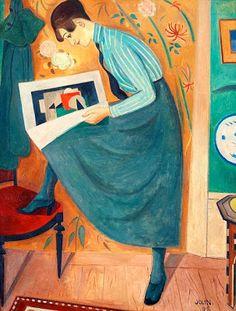 Reading and Art: Einar Jolin
