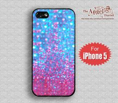 Sparkle,Glitter&Glow  iPhone 5 Case, iPhone 5 Case, iPhone 5 Hard Plastic Case, iPhone Case,Personalized iPhone Case,water proof on Etsy, $8.99