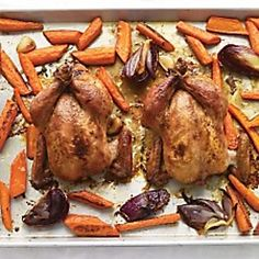Herb-Roasted Cornish Game Hens - Martha Stewart
