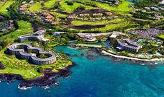 Hilton in Waikoloa village on the big island of Hawaii. I've been there it's AWESOME.