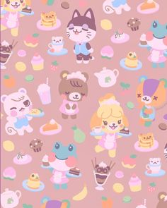 animal crossing wallpaper (notitle) The post Untitled appeared first on Rose Dickson. Animal Crossing 3ds, Animal Crossing Villagers, Animal Crossing Pocket Camp, Animal Crossing Wild World, Tier Wallpaper, Pink Wallpaper Iphone, Animal Wallpaper, Farm Animals, Cute Animals