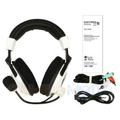 The Ear Force X11 is the perfect headset for XBOX gamers who want immersive game sound and XBOX Live communication at a great price. With an in-line amplifier and separate connectors for mic and line signals, the X11 also makes a great PC gaming headset. Turtle Beach Ear Force X 11 Gaming Headphones  are a perfect gift for a special gamer in your life!