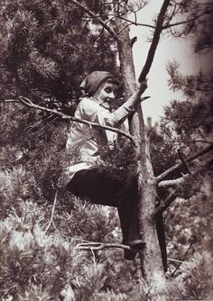 Astrid Lindgren - just like the heroic little girl she wrote about, one of my all-time favorite book characters, Pippi Longstocking.