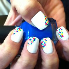 I have the coolest nails ever!!!!