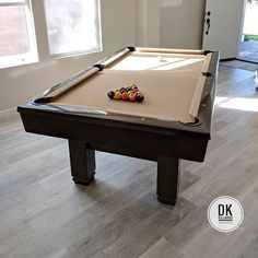 Finished Refelting This Foot Brunswick Pool Table In Irvine - Brunswick 7 foot pool table