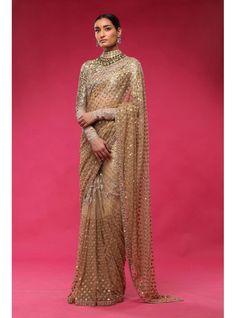 Gold Couture Week Saree