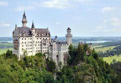 Castillo de Neuschwanstein, Baviera Alemania