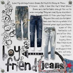 Boy Friend Jeans - Dare # 318