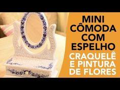 ▶ Mini cômoda com espelho - YouTube