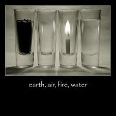 ✯ Elements ✯ Earth, air, fire, water