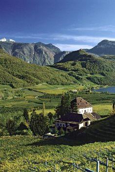 Kalterer See in Südtirol: Europas Weinstraßen überzeugen nicht nur durch ihre...