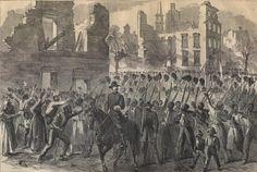 Colored Regiment in Charleston South Carolina in the Civil War
