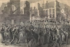 """On February 19, the Mass 55th - black soldiers - began marching to Charleston. The response of the black residents: """"Words would fail to describe the scene which those who witnessed it will never forget,—the welcome given to a regiment of colored troops by their people redeemed from slavery. As shouts, prayers, and blessings resounded on every side, all felt that the hardships and dangers of the siege were fully repaid."""""""