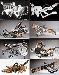 The weapons from District 9 are awesome.