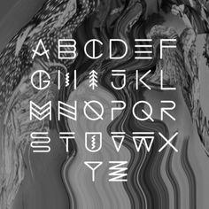 Simon Langlois é um designer canadense baseado em Montreal com um portfólio cheio de peças bem interessantes e com tipografia experimental.