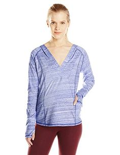 prAna Living Demi Top Blue Jay Large ** Want to know more, click on the image.