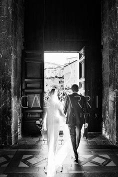 wedding in Duomo at Spoleto