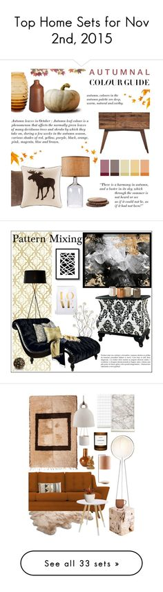 """""""Top Home Sets for Nov 2nd, 2015"""" by polyvore ❤ liked on Polyvore featuring interior, interiors, interior design, home, home decor, interior decorating, Urbancase, Zara, Kenroy Home and Madison Park"""