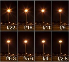 Save Money and Be Creative with 7 DIY Photography Hacks fotografie starburst_night Photography Cheat Sheets, Photography Basics, Photography Lessons, Photography Camera, Night Photography, Photography Tutorials, Creative Photography, Digital Photography, Aperture Photography
