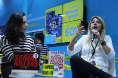 Ilana Casoy arrasou no papo com a jornalista Fabiane Pereira