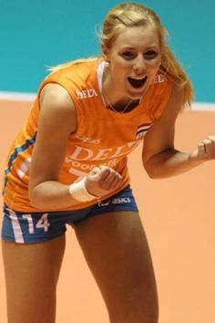 Laura Dijkema is a Dutch female volleyball player of the Dutch national female team. She distributes the game.