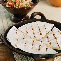 Cheese Quesadillas | MyRecipes.com