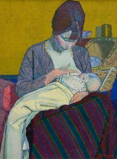 Harold Gilman (British, 1876-1919) Camden Town Group Painter