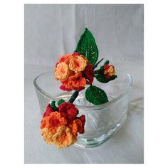 Crochet Flower Lantana Camara Pattern por FCFCrochetFlowers