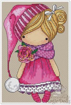 Magic doll (Rose)