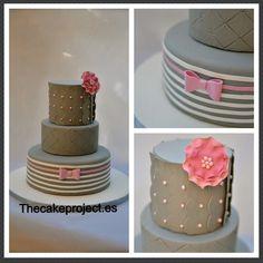 Jessica's Cake Inspired via Craftsy