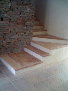 escalon, estante, tabla; de madera de quebracho