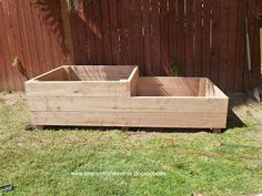 One More Time Events...: Two Tiered Raised Vegetable Bed