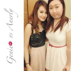 """@geniecullen's photo: """"With @anerlyfang at #generationbeautytalk2013 #today #sunday #awesome #happy #girl #talk #mivva #penang #cititel"""""""