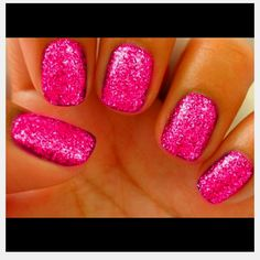 Neon and glitter nails!! Could this get any better?!