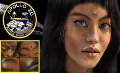 Missão Apollo 20: Mona Lisa a Menina Extraterrestre Encontrada na Lua