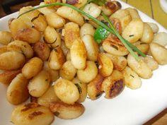 Gnocchi, Kitchen Hacks, Shrimp, Side Dishes, Potatoes, Meat, Vegetables, Cooking, Recipes