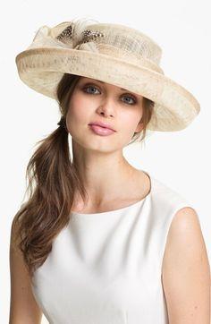 August Hat Danburite Romantic Hat | Nordstrom Kentucky Derby Party Hat Idea