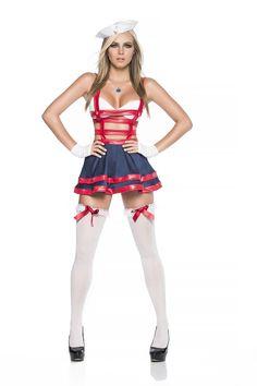 Dangerous Waters Captain Sailor Costume