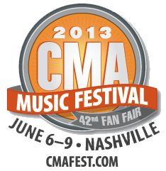 Win a trip to Nashville for the 2013 CMA Music Festival & Fan Fair! Enter by May 17 for a chance to win!