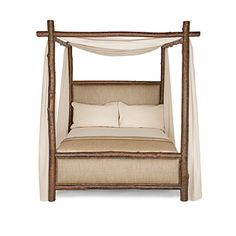 Rustic Canopy Bed #4540 - #4546