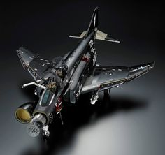 """ Phantom II Black Bunny "" by master modeler Shinzou Murakami. manufactured : Revell 1/32 unbelievable work ."
