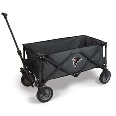 Atlanta Falcons Adventure Portable Utility Wagon - Dark Grey/Black
