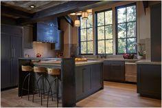 modern indsutrial design kitchens - Google Search