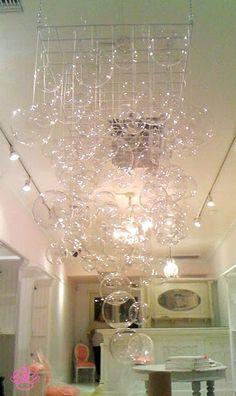 DIY - Bubble chandelier