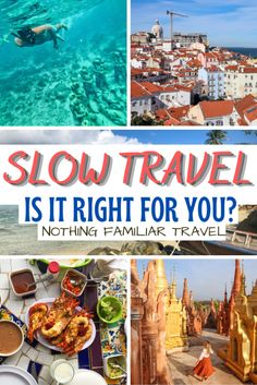 One week vacations that you worked a whole year for may have once been the norm. However, the slow travel movement is changing that! Join us as we breakdown exactly what is slow travel so you can see if this experience is right for you. Travel Advice, Travel Tips, Travel Destinations, Slow Travel, Asia Travel, Adventures Abroad, Sustainable Tourism, Travel Companies, Group Travel